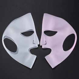 Wholesale Silicone Face Skin Care Mask For Sheet Mask Prevent Evaporation Steam Reusable Waterproof Mask Beauty Tool RRA627