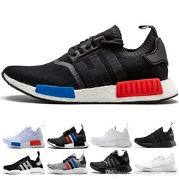 Chinese  2019 NMD R1 OREO Runner NBHD Primeknit OG Triple black White camo Running shoes For Men Women beige Runner Sports Shoe Eur 36-45 manufacturers