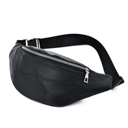 chest pouches UK - NEW Waist Bags Women Men Fanny Pack Female Male Belt Bag Solid Color PU Chest Bag Chest Phone Pouch