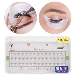 Purple False Eyelashes Australia - 0.05mmC Purple Mix Grafting False Eyelash Natural Light Eyelashes Extension Makeup Tools