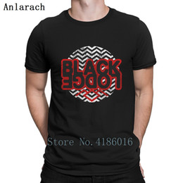 Twin Peaks Black Lodge T shirt fraco Designs Carta Top Tee Streetwear divertida Cotton Verão 2019 agradável