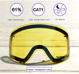 $enCountryForm.capitalKeyWord NZ - Anti-fog Uv400 Skiing Goggles Lens Glasses Weak Light Tint Weather Cloudy Brightening Lens For Hxj 20011 (only Lens) Acc30019
