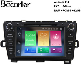 antenna automotive NZ - Android 9.0 car dvd gps for Toyota Prius 2009-2013 with radio gps swc video music wifi usb