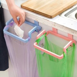 $enCountryForm.capitalKeyWord Australia - Cupboard Door Back Hanging Trash Rack Storage Kitchen Garbage Rubbish Bag Can Holder Hanging Kitchen Cabinet Trash Rack