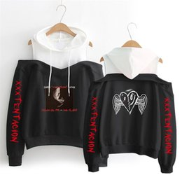 7b2754362e 2018 new XXX Tentacion Hoodies Sweatshirts Long Sleeve Off-Shoulder  Exclusive Kpop Women XXX Tentacion Album sala hot Clothes