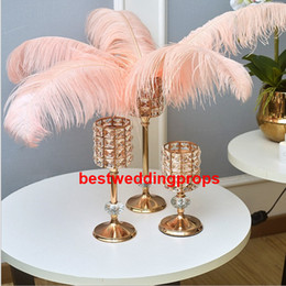 $enCountryForm.capitalKeyWord UK - New style Tall Large Crystal Chandelier Metal Wedding Flower Floral Stands,Walkway Stand For Wedding Decoration best01248