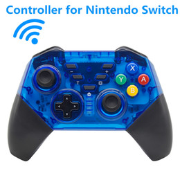 China Soundfox Gamepad NS Wireless Bluetooth Game Joystick Gamepad For Nintendo Switch Gaming Controller With Package Gamepad Dual Vibration suppliers