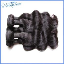 Cheap human hair dhl online shopping - factory clearance cheap a brazilian human hair extensions body wave kg bundles g bundle natural black color dhl express