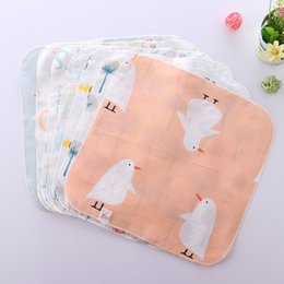 handkerchief child women Australia - Baby gauze wipes baby cotton high-density saliva towel Children's handkerchief scarf