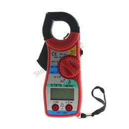 multi function meters Australia - KT87 Multi-function Digital Clamp Meter Multimeter Manual Electric Measurement Clamp Meter Electrician Repair Special