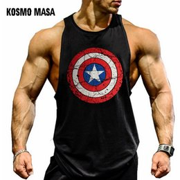 c1fa8e6ed8 Kosmo Masa Skull Mens Tops Shirt Bodybuilding Fitness Singlet Workout Tank  Top Cotton Sleeveless Muscle Vest For Men Mc0334 C19040301