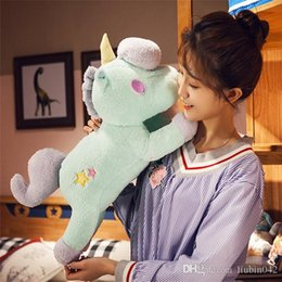 $enCountryForm.capitalKeyWord UK - 0170712 March Hot Sales Brand New Unicorn Unicorn Plush Toys Sleeping Pillow Cute Doll Boy And Girl Birthday Gift Packing
