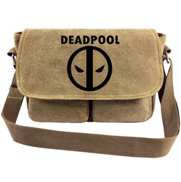 $enCountryForm.capitalKeyWord NZ - Deadpool messenger bag Super hero Wade Winston sling case Dead pool satchels Sport canvas urick Single shoulder pack Outdoor haversack