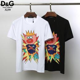 $enCountryForm.capitalKeyWord Australia - HOT designer luxury Mister Pig men's LOGO ROYAL KING DG 8 polo T-shirt high street fashion men's brand DOULC GABBANA T-shirt HE