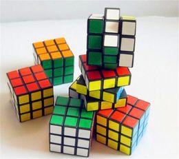 Wholesale Free Deep Multi-color Plastics Magic Cube Intelligence Development Toys Children Birthday Gift Educational Hot Sale