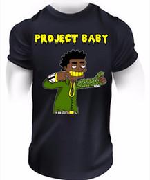 $enCountryForm.capitalKeyWord Australia - Project Baby Kodak Black T-Shirt Hip-Hop Sniper Gang Rap Music Trap Tee Top 100% Cotton T-Shirts For Man