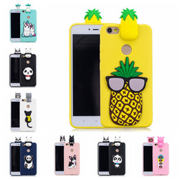 $enCountryForm.capitalKeyWord Australia - Case For Redmi Note 5A High Configuration Version Pasted 3D Funny Panda Dog Cat Pineapple Sticking a Little Silicon Doll 61 Models Option