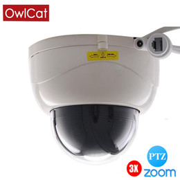Hd Ptz Camera Night Vision UK - OwlCat Full HD 1080P Indoor IR Dome IP Camera PTZ 3X ZOOM auto focus Varifocal Night Vision Network P2P 2MP Night Onvif