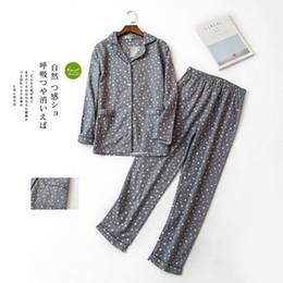b62c8a71b Pijama das Mulheres Outono Inverno 2019 Novo Algodão de Manga Longa  Desgaste do Sono Coreano Pijama Femme Homewear Algodão Bonito Dos Desenhos  Animados ...