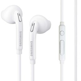$enCountryForm.capitalKeyWord Australia - wholesale S6 S7 Headphones Earphones J5 Earbuds iPhone 6 6s In Ear wired With Mic Volume Control 3.5mm universal