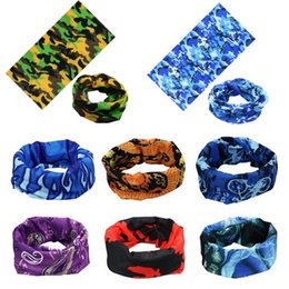 customized scarves NZ - Seamless Outdoor cycling scarf bandana magic scarves sunscreen hair band sport headwear headband multifunctional customized scarf