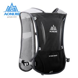 Racing Harnesses NZ - AONIJIE E913S 5L Hydration Backpack Rucksack Bag Vest Harness For 1.5L Water Bladder Hiking Camping Running Marathon Race Sports #235078