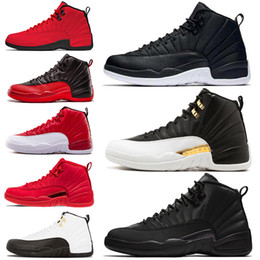 2794924f837f Winterized WNTR 12 12s Mens Basketball Shoes Gym Red Wings Black Nylon  Bulls French Blue men Sport Sneakers 7-13 Wholesale Drop Ship