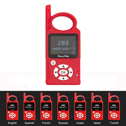 Function Connectors Australia - JMD Handy Baby Hand-held V9.0.3 Auto Key Programmer With G Function JMD ID4D  ID46  ID48 Chips Programming Car Keys