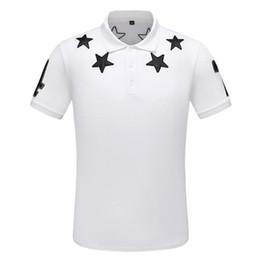Mens patchwork plaid shirts online shopping - Best Designer Polo T Shirt Luxury Men Brand Polos Arrival Stripe Color Casual Mens Polo Fashion Men Summer T Shirt Polos Size M XL