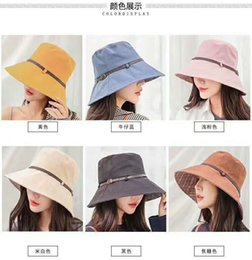 Sailor Girl Hats NZ - Wholesale and retail fashion classic pretty girl ladies big hat casual sunshade travel ball with hat 003