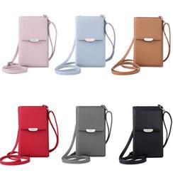 Mini Frauen Umhängetasche Brieftasche Kartensteckplatz Handytasche Mode Leder Messenger Bags Dame Mädchen Kleine Umhängetasche Handtasche Tasche