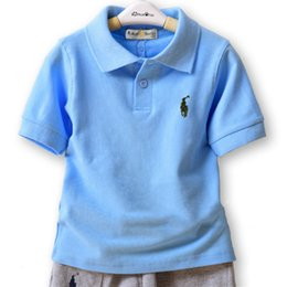 $enCountryForm.capitalKeyWord Australia - 2019 new Children's clothing boy short-sleeved lapel POLO shirt baby lapel sports shirt summer children's half-sleeved cotton shirt tide