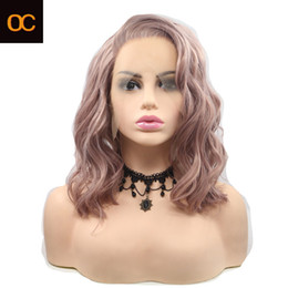 OC 931 New Chemical fiber wig Personalized customization colour Shawl medium and long curly hair girl Front lace headgear on Sale