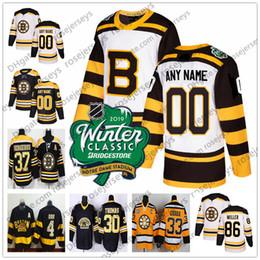 ae44a9937 Jersey Black 82 UK - Boston Bruins Black 2019 Winter Classic White Jersey   48 Matt