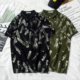 Black Polo Men Australia - Fashion Designer Polo For Mens T shirts Summer Brand Mens Polo Shirts Short Sleeve Men T Shirts High Quality Casual T Black and Green color