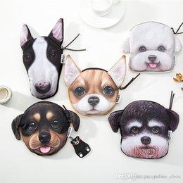 $enCountryForm.capitalKeyWord Australia - Sexy2019 Sweet 3D Dog Printing Wallets Collie Pug Dog Coin Purses Pop Wallet Handbag Cute Change Bags Zipper For Women 0629