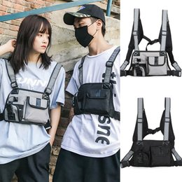 $enCountryForm.capitalKeyWord Australia - Men Women Tactical Harness Chest Rig Bag Hip-Hop Radio Two Pockets Fanny Pack