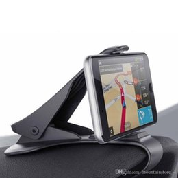 Автомобильный держатель телефона Dashboard Mount Универсальный держатель сотового телефона клип GPS кронштейн держатель мобильного телефона Подставка для телефона в автомобиле (Розница) на Распродаже