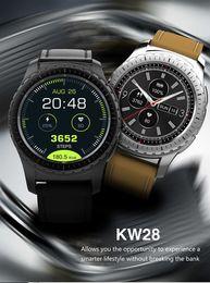 $enCountryForm.capitalKeyWord Australia - KW28 Smartwatch Phone 2G 3G Bluetooth Smart Watch 1.3 inch Sedentary Reminder Heart Rate Monitor Anti-lost Remote Camera