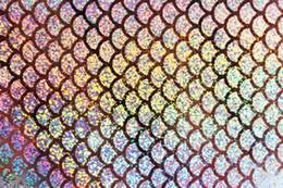 $enCountryForm.capitalKeyWord Australia - Tigofly 6 pcs 10X21cm Holographic Adhesive Film Flash Artificial Fish Scale Skin Jig Sticker Hard Baits Lures sticker Fly Tying