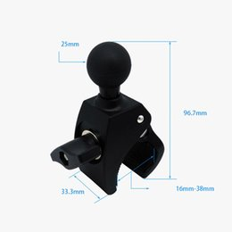 Rail foR cameRa online shopping - Motorcycle Bicycle Handle Bar Rail Mount with inch Ball Mount for Action Camera for Ram Handlebar Clamp