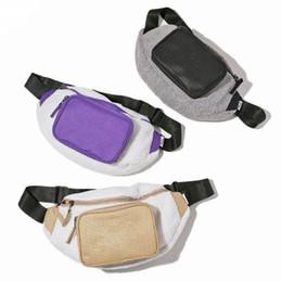 Mens waist online shopping - 19ss New Life Skateboards Designer Bag Wool Mens Womens Shoulder Bag Waistpacks Unisex Mini Cute Waist Bags