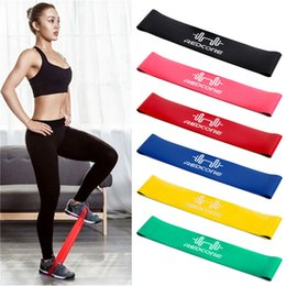 crossfit fitness equipment 2019 - 2018 Hot Gym Fitness Equipment Strength Training Latex Elastic Resistance Bands Workout Crossfit Yoga Rubber Loops Sport