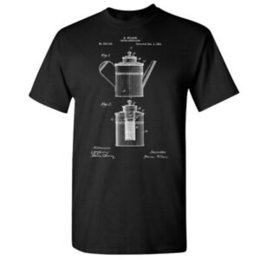 restaurant pots Australia - Percolator Coffee Pot Shirt Vintage Coffee Pot Barista Gift Pour Over Restaurant
