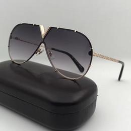 $enCountryForm.capitalKeyWord NZ - 2017 new men women brand sunglasses Z0898E fashion oval sunglasses coating mirror lens hollow metal frame color plated frame UV400 lens