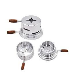 Hookah Carbon Australia - Arabic accessories Bar carbon separator Carbon pan smoker compartment free tin foil Hookah accessories