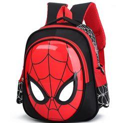 872e4d0eb1 2018 3D 3-6 Year Old School Bags For Boys Waterproof Backpacks Child  Spiderman Book bag Kids Shoulder Bag Satchel Knapsack
