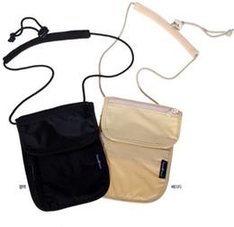 Plain wallet holder online shopping - Passport Holder Wallet Travel Check Organizer Wallet Anti theft package travel wallet portable purse business card storage bag FFA2322