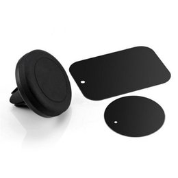 magnetic cell phone car mount NZ - Car Mount Phone Holder Air Vent Magnetic Universal Car Mount cell phone holder One Step Mounting Reinforced Magnet Easier Safer Driving