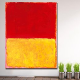 $enCountryForm.capitalKeyWord Australia - 1 Piece Wall Pictures For Living Room Abstract Rothko Untitled Canvas Art Home Decor Modern No Frame Oil Painting No Frame